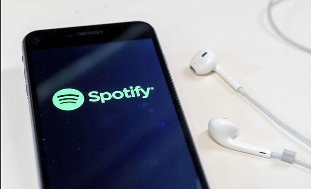 Spotify saattaa esitellä 24. huuhtikuuta uuden ilmaisversion. Kuvituskuva.