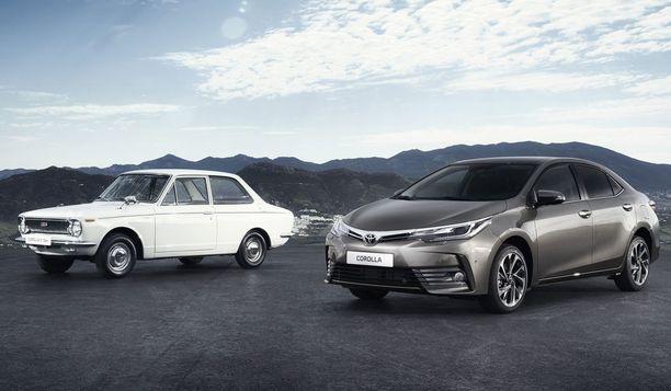 Suomessakin niin tuttu Toyota Corolla on yhä maailman myydyin automalli.