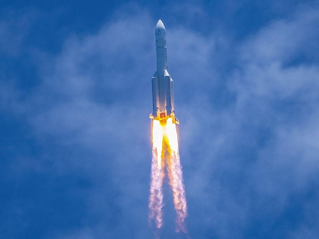 Tianwen-1-mönkijä lähti viime vuoden lopulla kohti Marsia. Mönkijän on tarkoitus laskeutua Marsiin toukokuun puolivälissä.