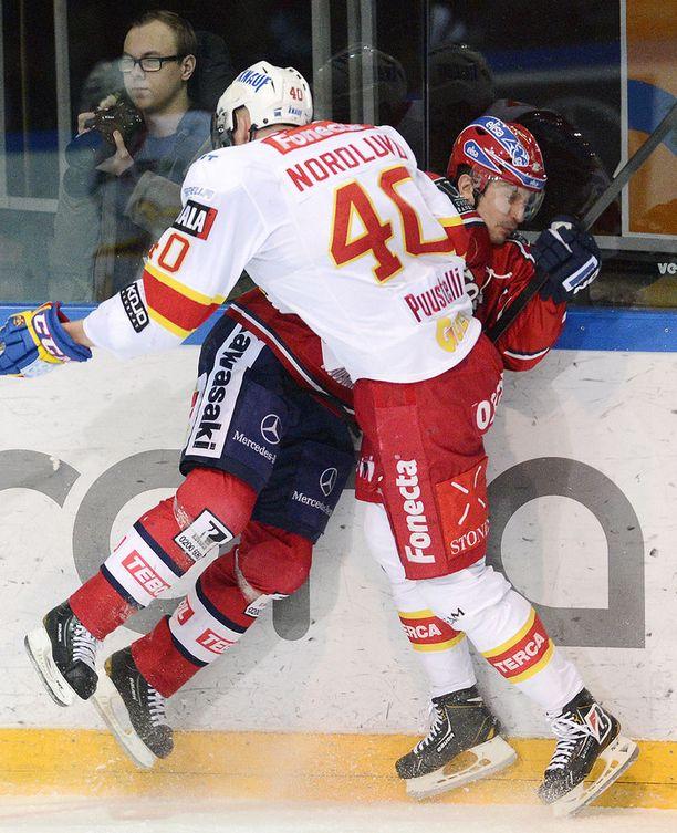 Markus Nordlundin taklaus oli painava. Valtavan kohun keskellä hänelle tuomittiin lopulta kahden ottelun pelikielto.