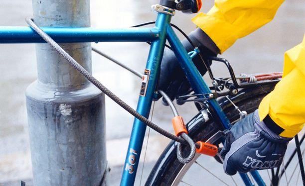 Itä-Uudenmaan poliisilaitoksen mukaan pyörävarkauksien määrässä on nähtävissä selkeä trendi. Arkistokuva.