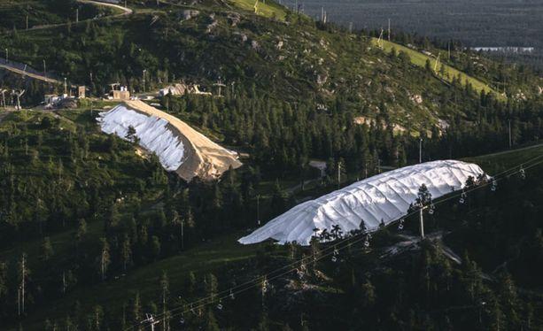 Rukalla kehitettiin uusi tapa säilöä lunta, mikä mahdollistaa aikaiset avaukset.