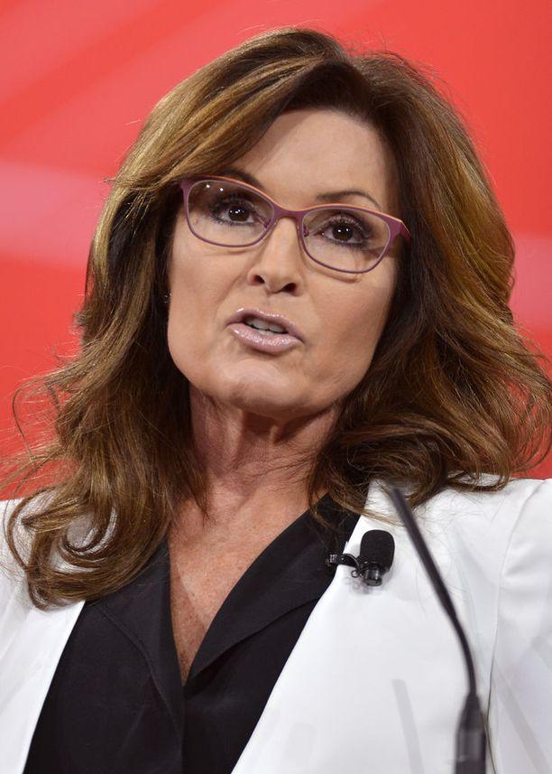 Sarah Palin oli John McCainin varapresidenttiehdokas vuonna 2008.