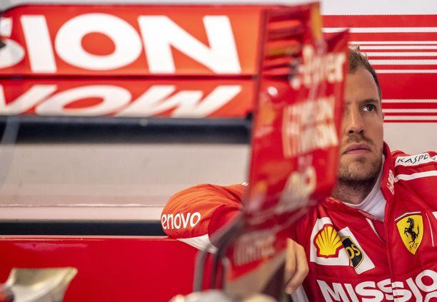 Sebastian Vettel on ehdoton ykköskuski Ferrarilla.