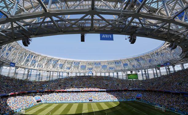 Nižni Novgorodissa on pelattu useita tämän kesän MM-kisojen otteluita.