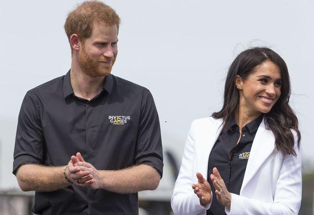 Prinssi Harryn ja herttuatar Meghanin kiertueohjelma Australiassa on ollut tiivis.