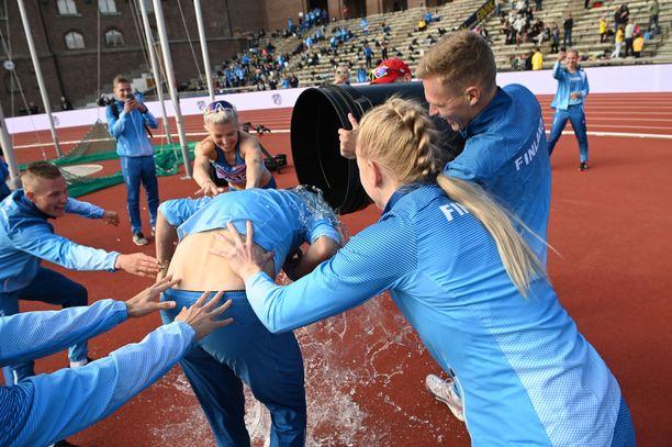 Kyyti oli suomalaisille kylmää viikonlopun Ruotsi-ottelussa Tukholmassa.