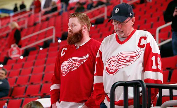 Detroitin fanit eivät päässeet näkemään suosikkijoukkuettaan.
