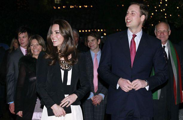 Kate taitaa edustustyylin.