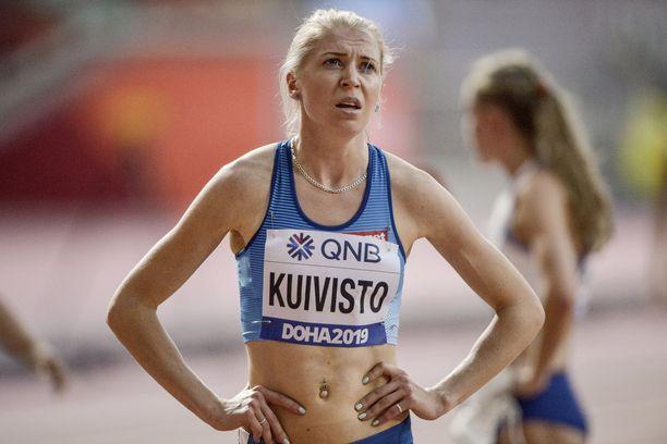 Sara Kuivisto juoksee Espoossa viikonloppuna kauden ensimmäisen 800 metrin kisan.