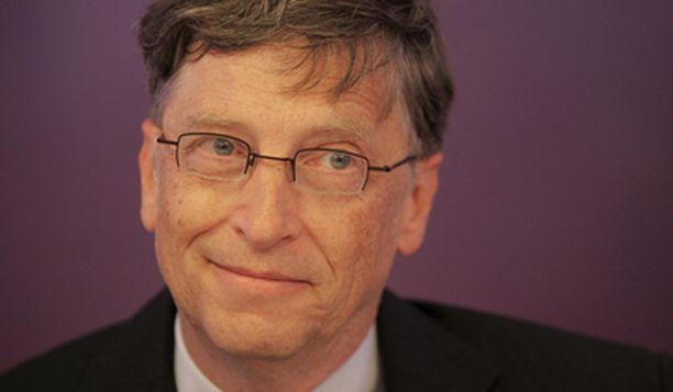 Bill Gatesin omaisuus on 40 miljardia dollaria.