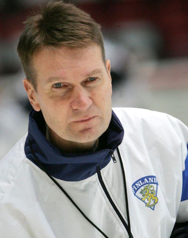 Erkka Westerlund aloitti valmentamisen Raumalla ollessaan vasta 13-vuotias.