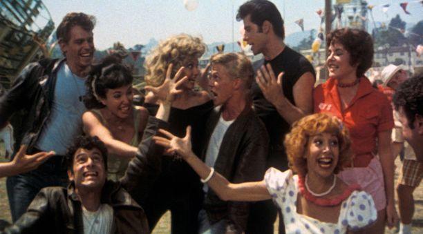 Stockard Channing Rizzona Grease-elokuvassa. Elokuva ilmestyi vuonna 1978 ja se kuvattiin vuonna 1977. Tuolloin tähti oli 33-vuotias.