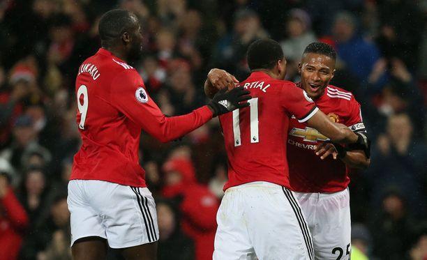 Tämä trio vastasi Manchester Unitedin maaleista maanantai-iltana.