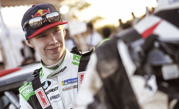 Kalle Rovanperä taistelee WRC 2 -luokan voitosta Argentiinassa.