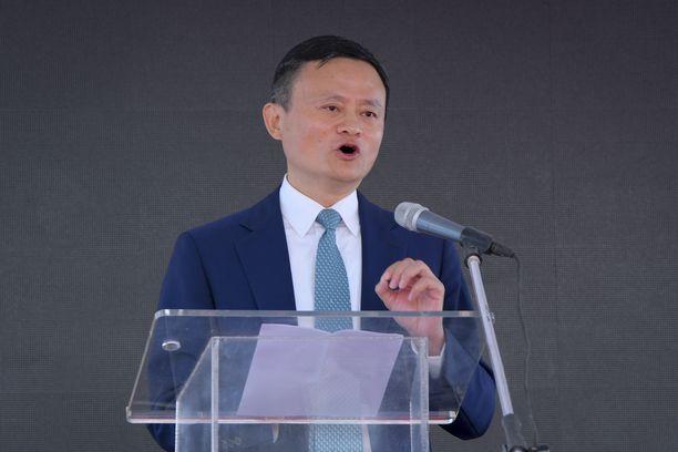 Alibaban perustaja Jack Ma tunnetaan karismaattisena miehenä.