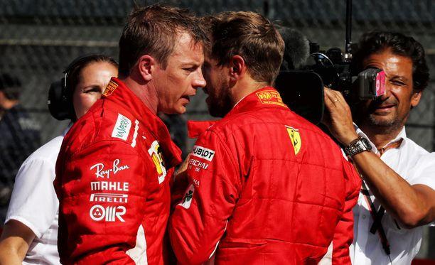 Kimi Räikkönen ja Sebastian Vettel ajoivat Ferrarille 33 MM-pistettä, mutta enemmänkin olisi ollut saavutettavissa.