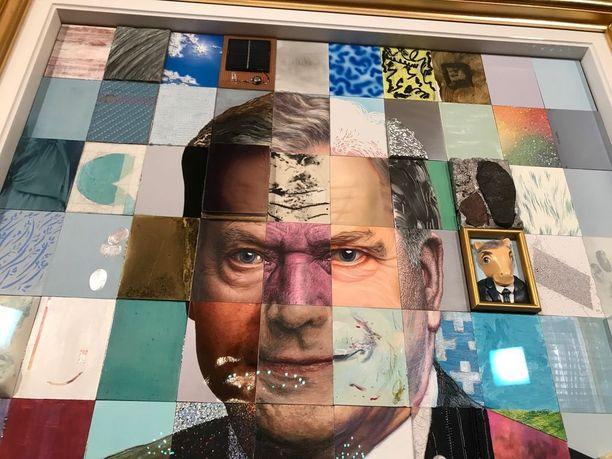Tasavallan presidentin Sauli Niinistön tuore muotokuva on kesän ajan kansan nähtävissä Ateneumin taidemuseossa Helsingissä.