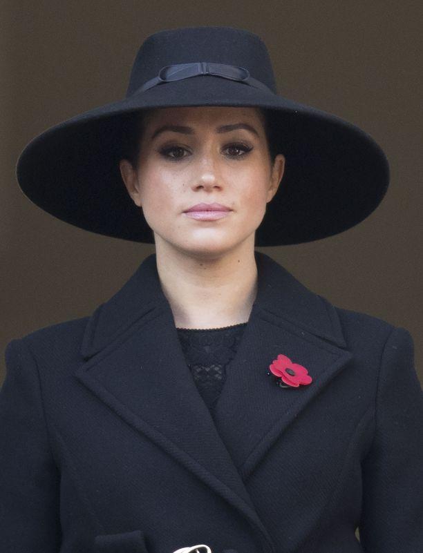 Herttuatar Meghan kertoi viikko sitten yksinäisyydestään ja kohtaamastaan rasismista brittihovissa. Kuva vuodelta 2019.