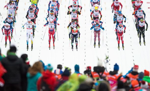 Lauantaina Sveitsin Lenzerheidessa alkava Tour de Ski käsittää seitsemän osakilpailua yhdeksään päivään.