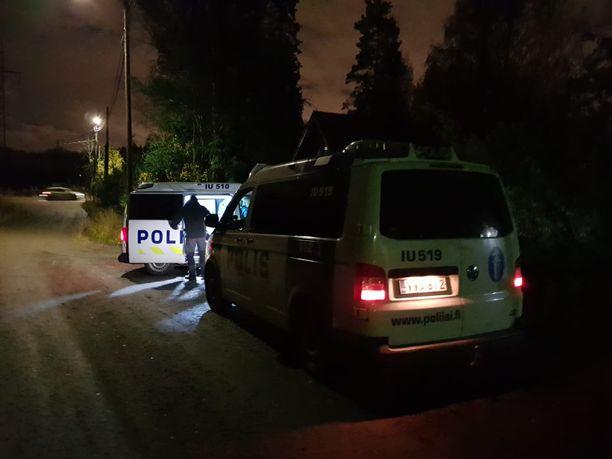 Lauantai-iltana Tuusulassa oli käynnissä poliisioperaatio.