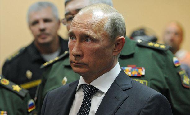 Torstaina sijoitusalan konferenssissa esiintynyt Putin ei ollut huolissaan Venäjän taloustilanteesta.