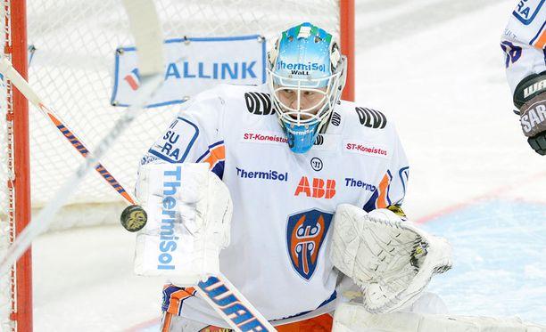 Juha Metsola debytoi Leijonissa.