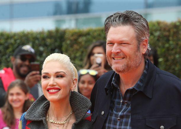 Gwen Stefani ja Blake Shelton ovat tuore kihlapari.