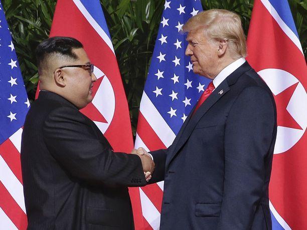 Pohjois-Korean johtaja tapasi Donald Trumpin viimeksi Singaporessa kesäkuussa.