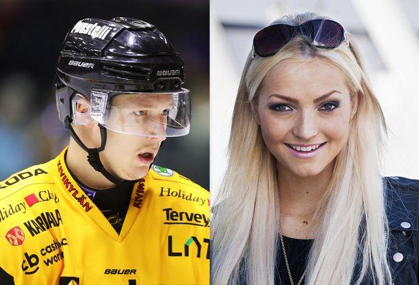 Maija Kerisalmi ja Tomi Iso-Mustajärvi seurustelevat.