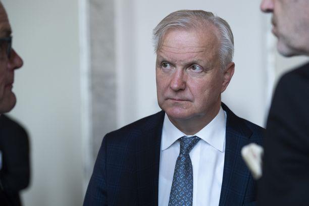 Suomen Pankin pääjohtaja Olli Rehn.