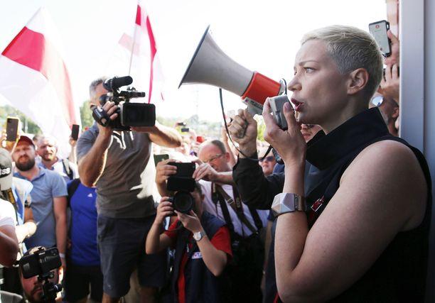 Maria Kolesnikova jäi jatkamaan oppositiossa toimimista Valko-Venäjälle, toisin kuin kaksi muuta presidentinvaalien keulahahmoa.