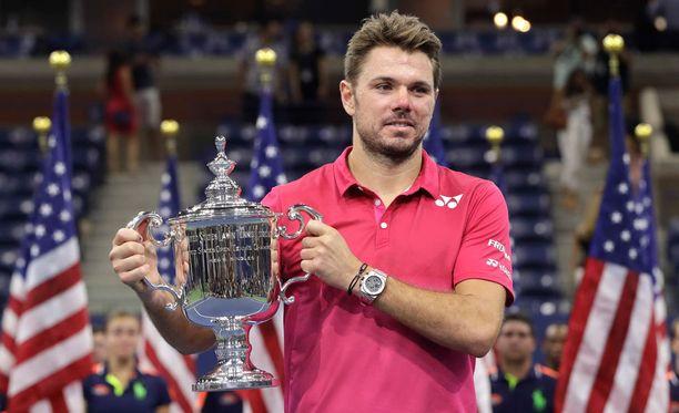 Sveitsin Stanislas Wawrinka on voittanut tenniksen Yhdysvaltain avointen miesten kaksinpelin mestaruuden.
