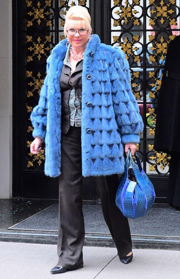 Ivana Trump on nykyään hyvissä väleissä ex-miehensä kanssa.