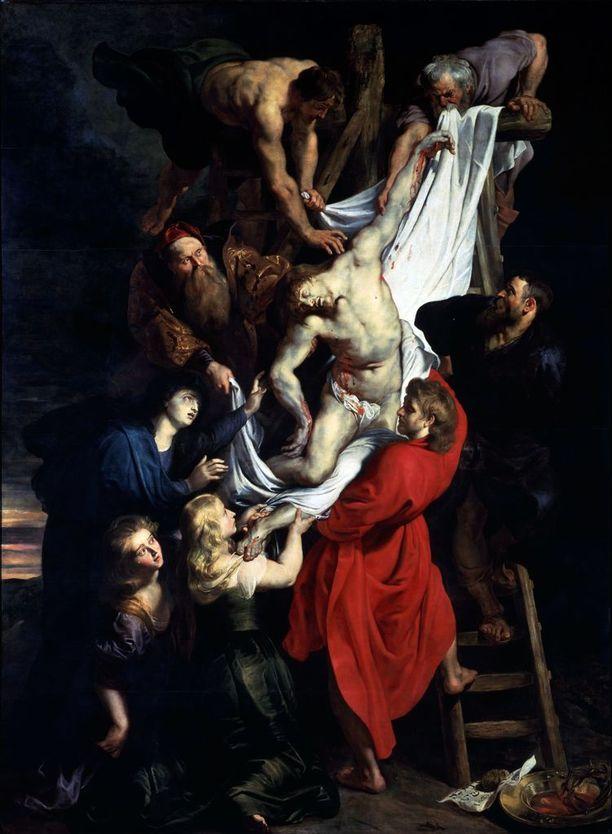 Kristuksen ottaminen ristiltä, Peter Paul Rubens, 1612.