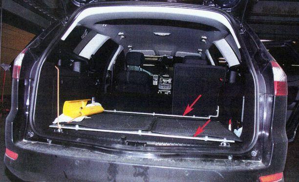 Tässä taksissa Penttinen tappoi ja raiskasi nuoren mikkeliläisnaisen.