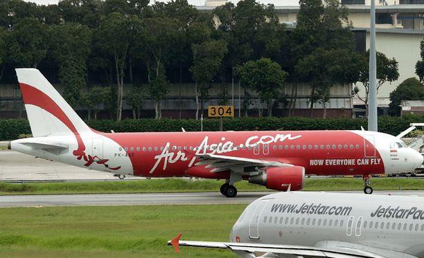 AirAsia-lehtoyhtiön matkustajakoneen lasku ei mennyt suunnitellusti.