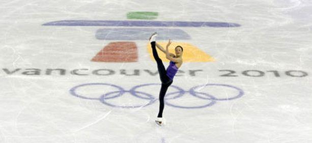Laura Lepistö on piirtänyt jo luistimillaan kuviot olympiajäähän.