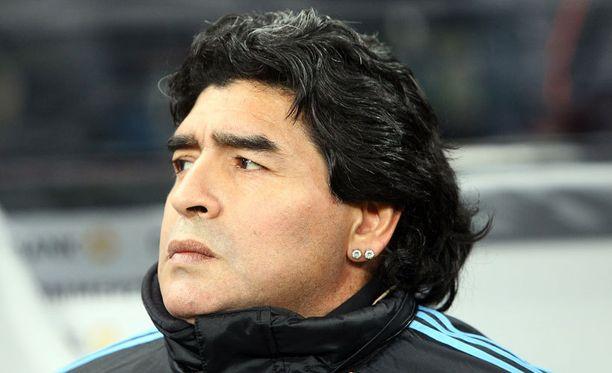 Diego Maradonaa syytetään parisuhdeväkivällasta.