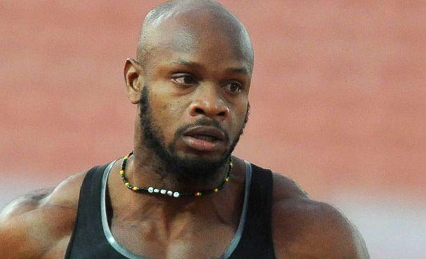 Asafa Powell ei ole vielä voittanut henkilökohtaista MM-kultaa.
