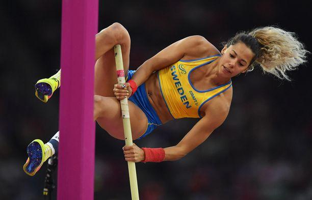 Angelica Bengtsson on yksi Ruotsin monista yleisurheilutähdistä.