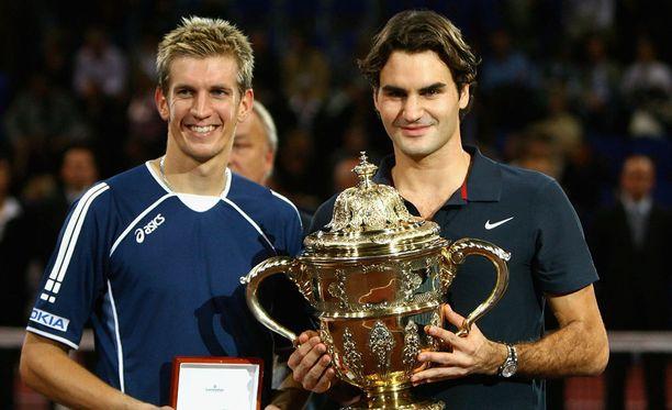 Jarkko Nieminen ja Roger Federer kohtaavat vielä kerran.