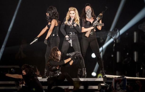 Madonnan lavashow hakee vertaistaan.