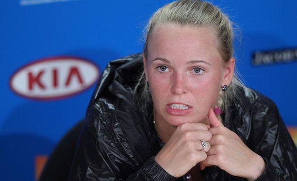 Caroline Wozniacki putosi maailmanlistalla neljänneksi.