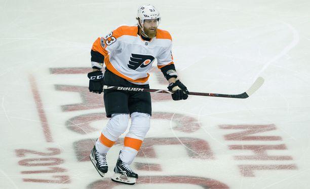 Jakub Voracek kuuluu NHL:n eturivin pelaajiin.