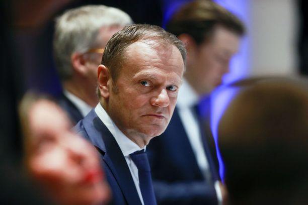 Donald Tusk toivoo muiltakin EU-mailta reagointia.