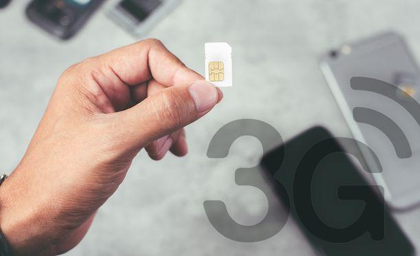 3G-liittymien omistajien tulee päivittää sopimuksensa.
