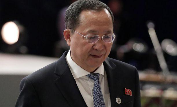 Ri Yong-Hon mukaan Pohjois-Korea ei tule välittämään tippaakaan sitä kohtaan kaavailluista uusista pakotteista ja sanktioista.