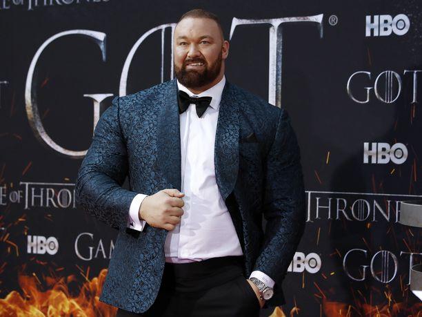 Hafþór Júlíus Björnsson on myös Game of Thrones -sarjan tähti.