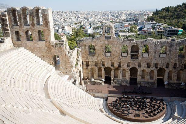 Historiallisessa Ateenassa riittää nähtävää.